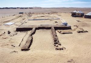イパイの墓の上部構造