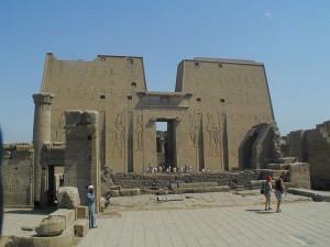 ホルス神殿第1塔門/エドフ