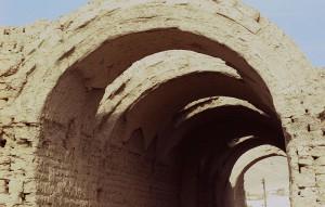 ヴォールト天井をもつラムセウムの倉庫群