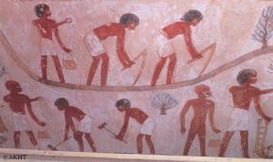 ナクトの墓の壁画/ルクソール西岸
