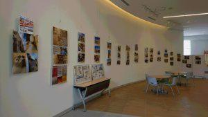 東日本国際大学1号館の写真展